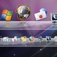 WinStep Nexus Dock per avere il dock di OS X su Windows