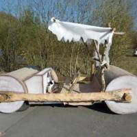 In vendita l'automobile dei Flinstone perfettamente funzionante !