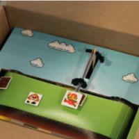Video Game in a Box: Super Mario Bros in una scatola di cartone