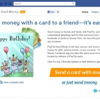 Paypal lancia Send Money, un'applicazione Facebook per inviare denaro agli amici