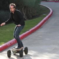 Lo skateboard controllato con la mente