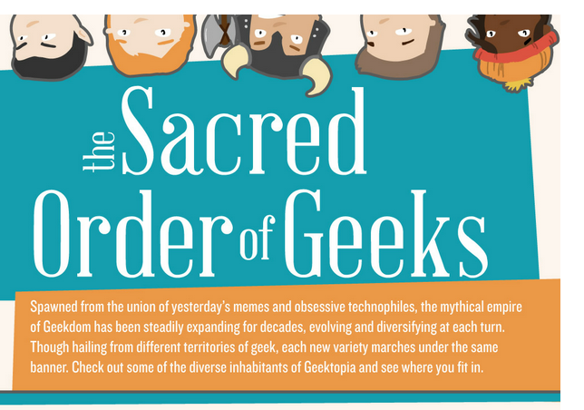 What Kind of Geek are You? Il Sacro Ordine dei Geek!