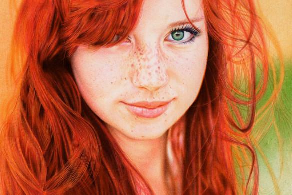 redhead_girl___ballpoint_pen_by_vianaarts-d5531ab