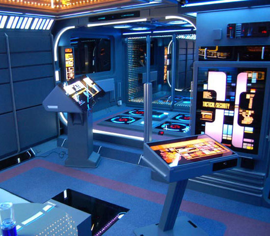 Man Cave Ideas Geek : Star trek man cave on pinterest uss