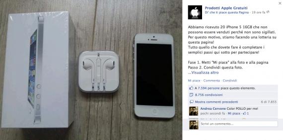 iphone 5 gratis