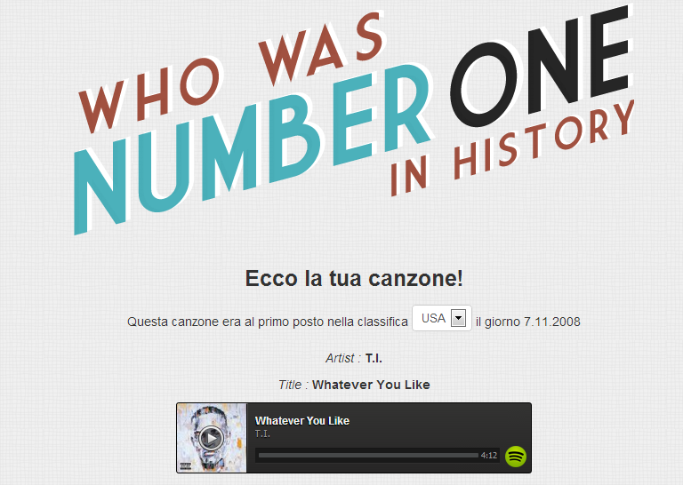 Who-was-number-one-in-history