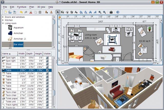 Progettare e arredare casa in 3d gratis tissy tech for Progettare cucina 3d online gratis